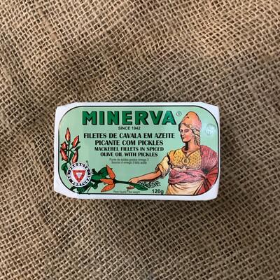 Minerva Mackerel Spiced Olive Oil Pickles 120g