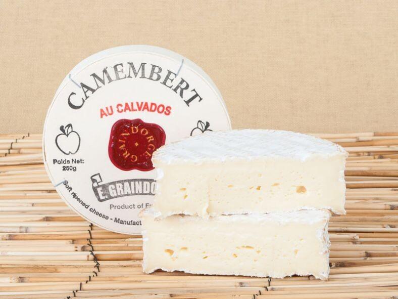 Camembert au Calvados