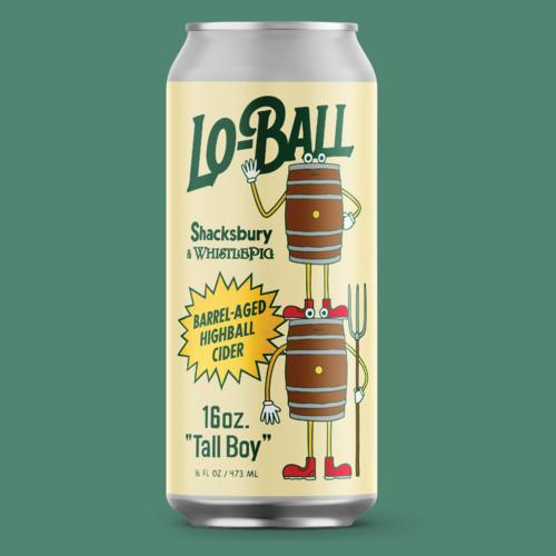Shacksbury Lo-ball 4pk