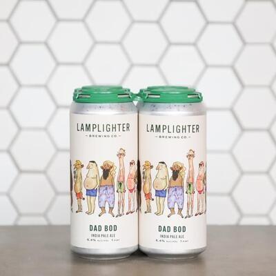 Lamplighter Dad Bod 4pk
