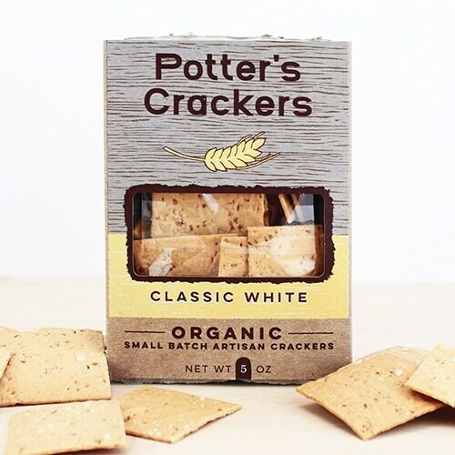 Potter's Crackers Classic White