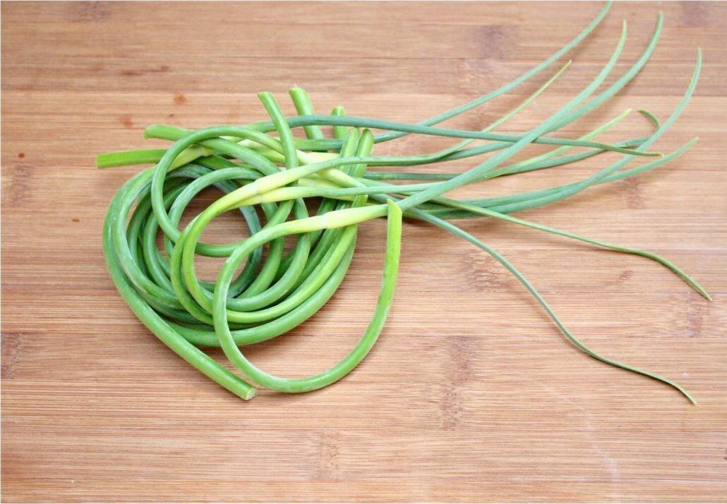 Garlic Scapes  - 1/2 Pound