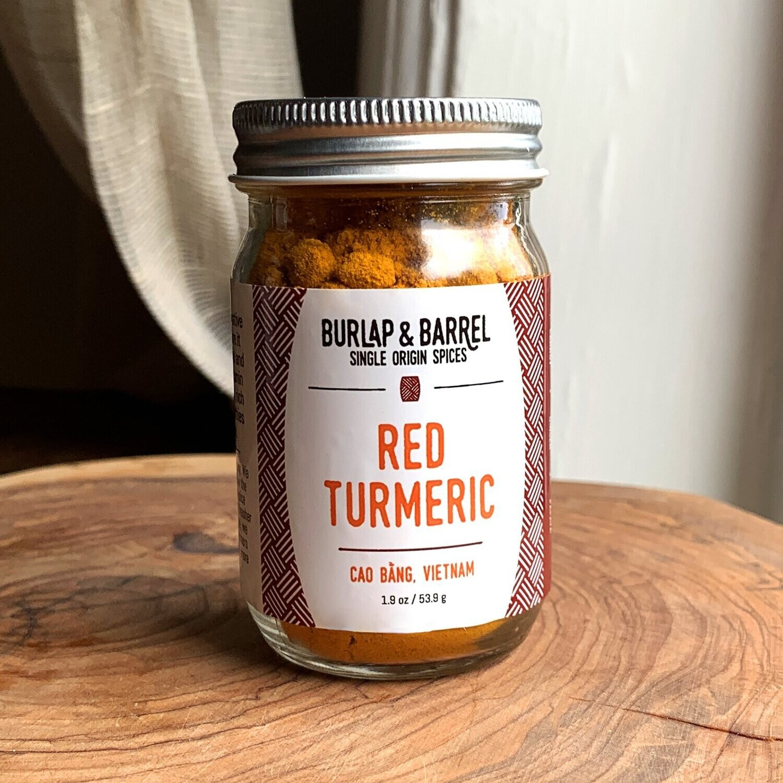 Burlap Red Turmeric