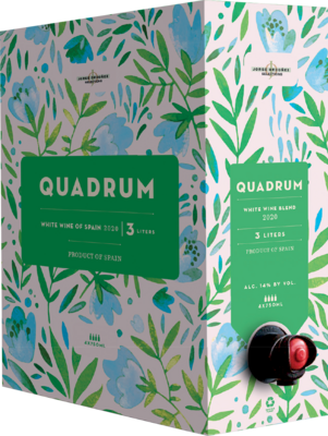 Quadrum White 3L Box