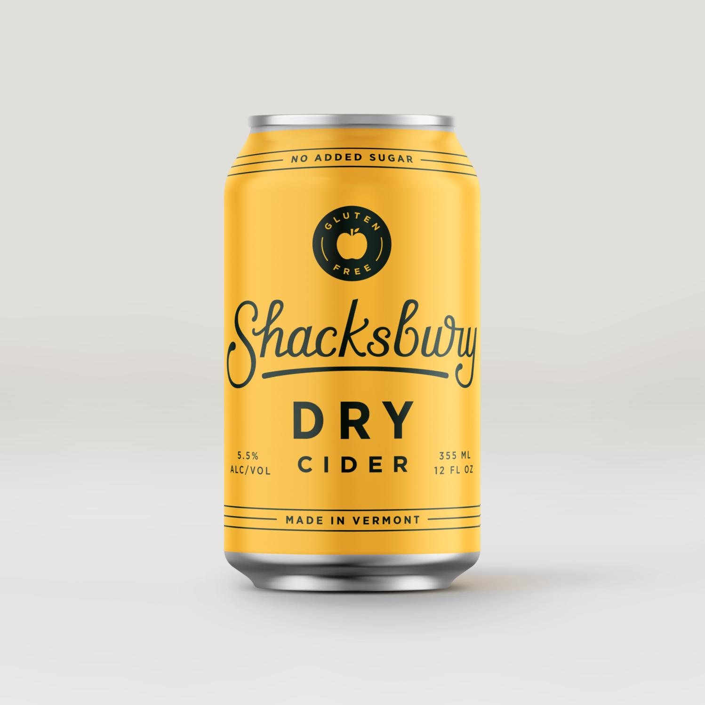 Shacksbury Dry Cans 4pk