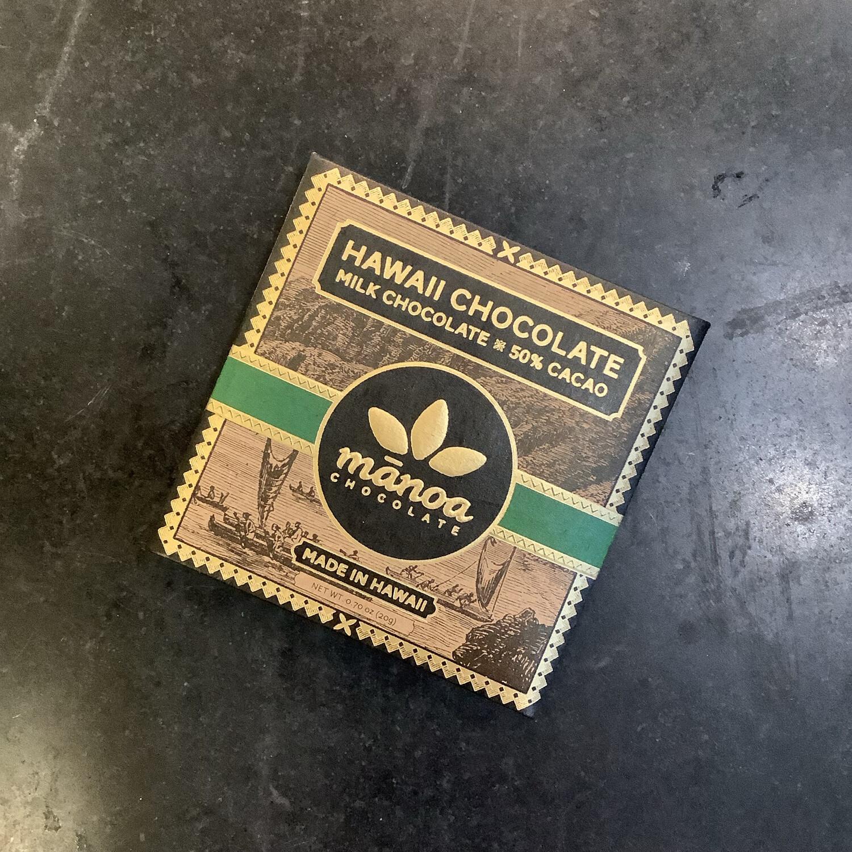 Manoa Hawaii Milk Chocolate 20g