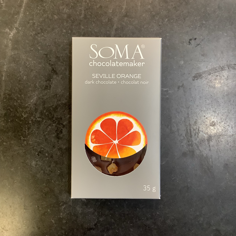 SOMA Seville Orange Dark Chocolate 62%