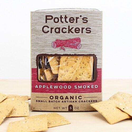 Potter's Crackers Applewood Smoked