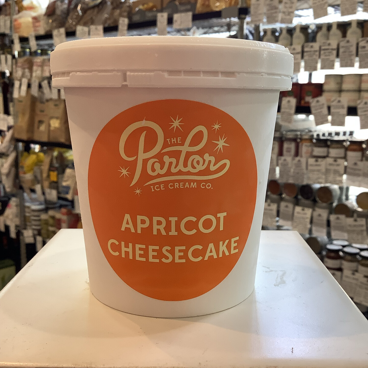 Parlor Apricot Cheesecake