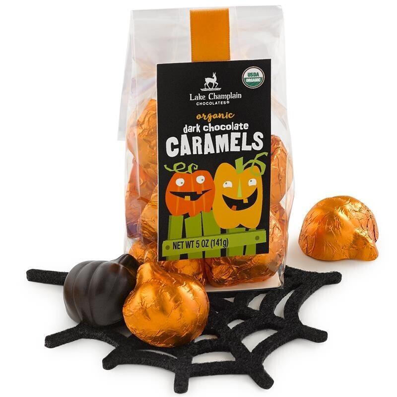 Lake Champlain Pumpkin Dk Caramel Bag