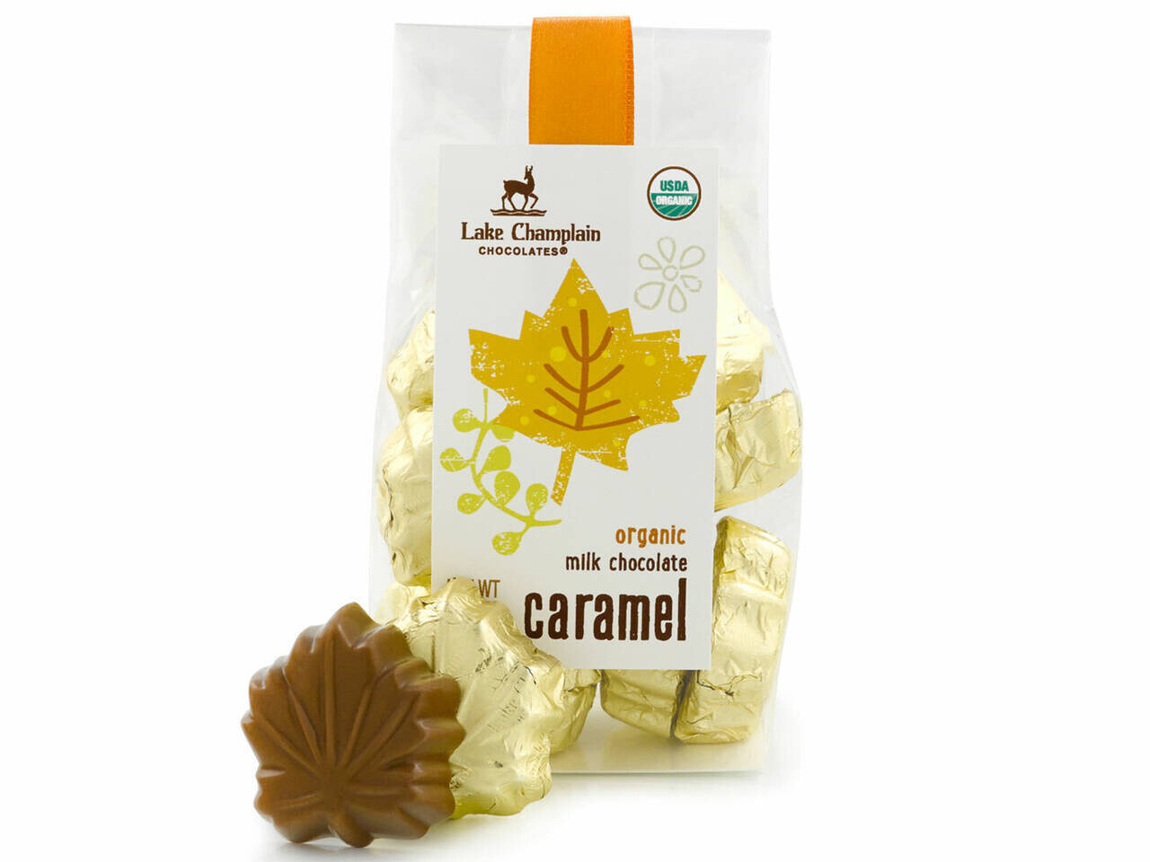 Lake Champlain Leaves Milk Caramel Bag
