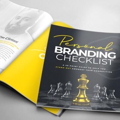 Personal Branding Checklist