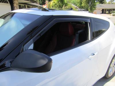 Weather-Tech Front & Rear Window Deflectors
