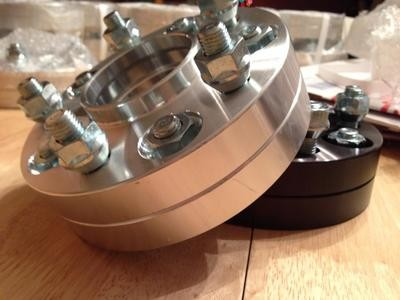 Billet Aluminum Wheel Spacers (5x114.3 67.1mm)