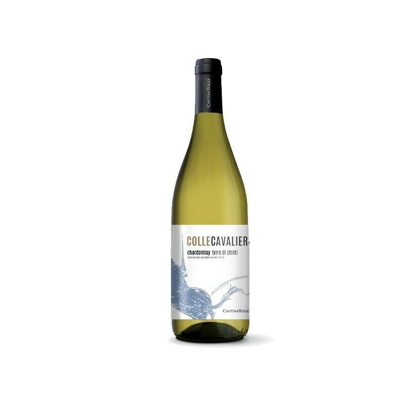 Chardonnay Colle Cavalieri Terre di Chieti IGP, Cantina Tollo 7,5 dl
