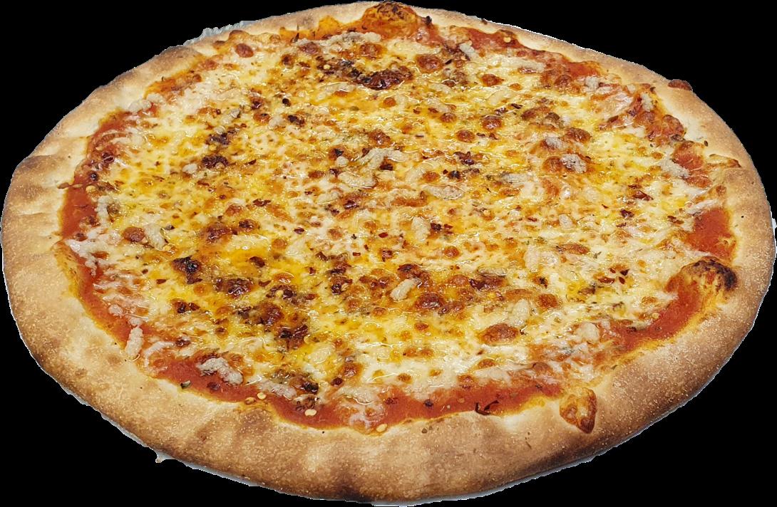 Pizza Aglio e Peperoncino (scharf)