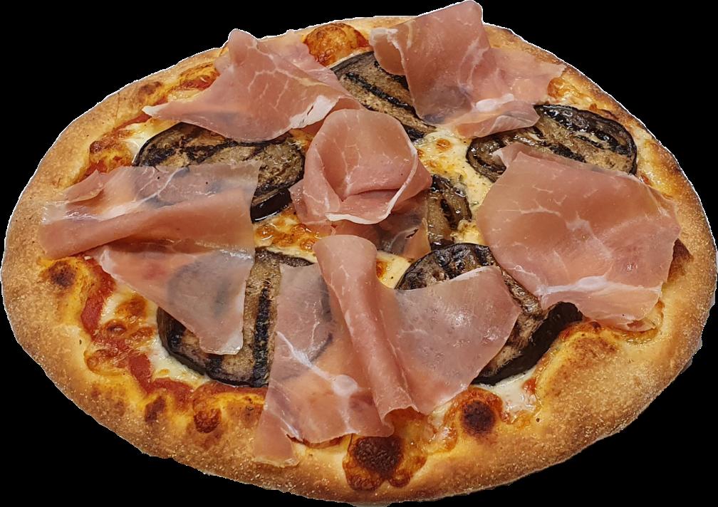 Pizza Melanzane e Parma