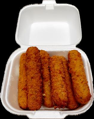 5 Stück Mozzarella Sticks