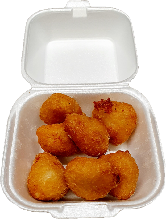 6 Stück Chili Cheese Nuggets