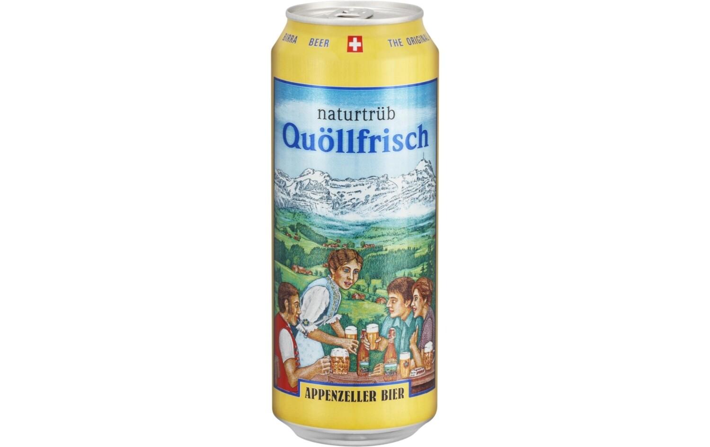 Appenzeller Quöllfrisch Naturtrüb 5dl