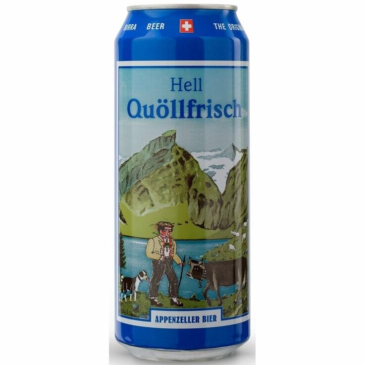 Appenzeller Quöllfrisch Hell 5dl