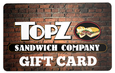 TopZ Gift Card