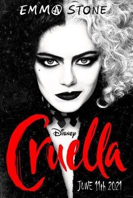 Cruella  Saturday June 19th