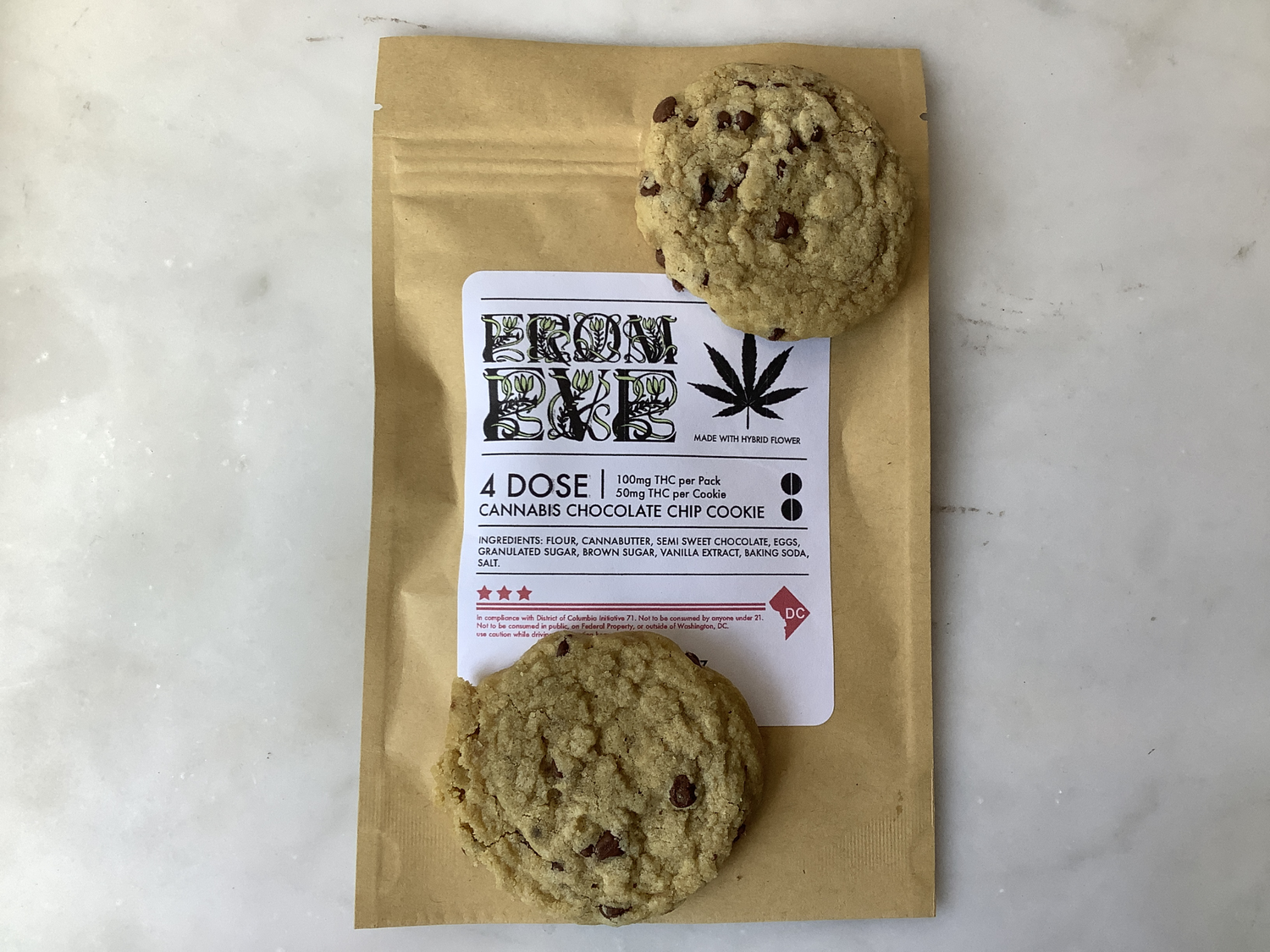 Legal Coupon - Optional (THC Cannabis Cookies) Gift