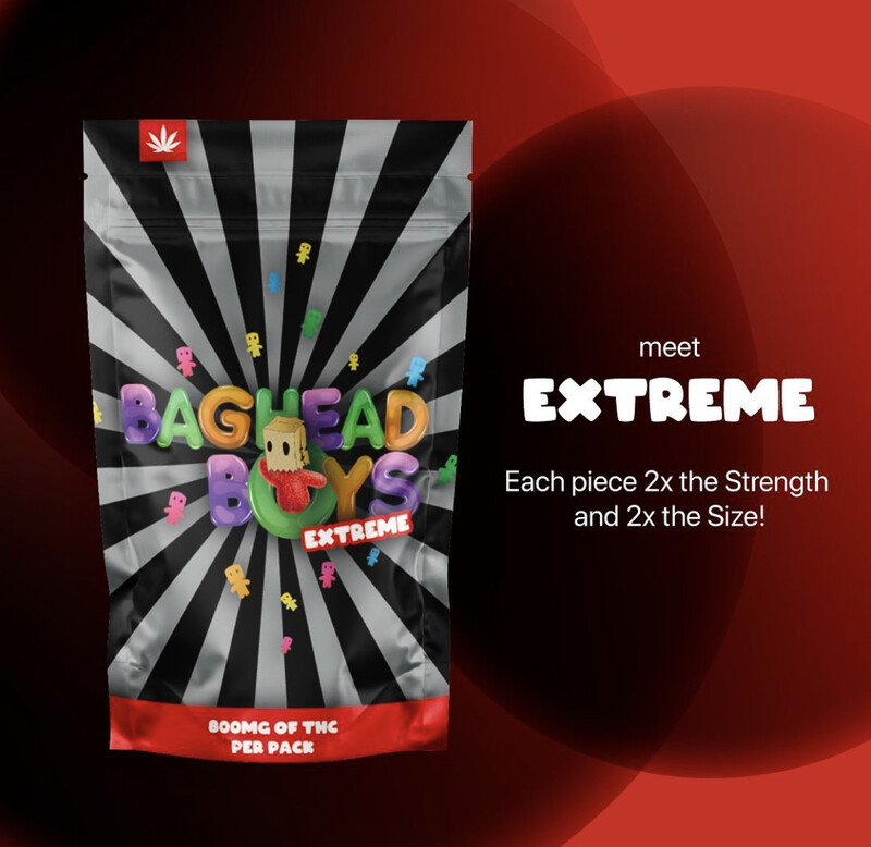 Legal Coupon - Optional ( THC Baghead Gummies Extreme ) Gift