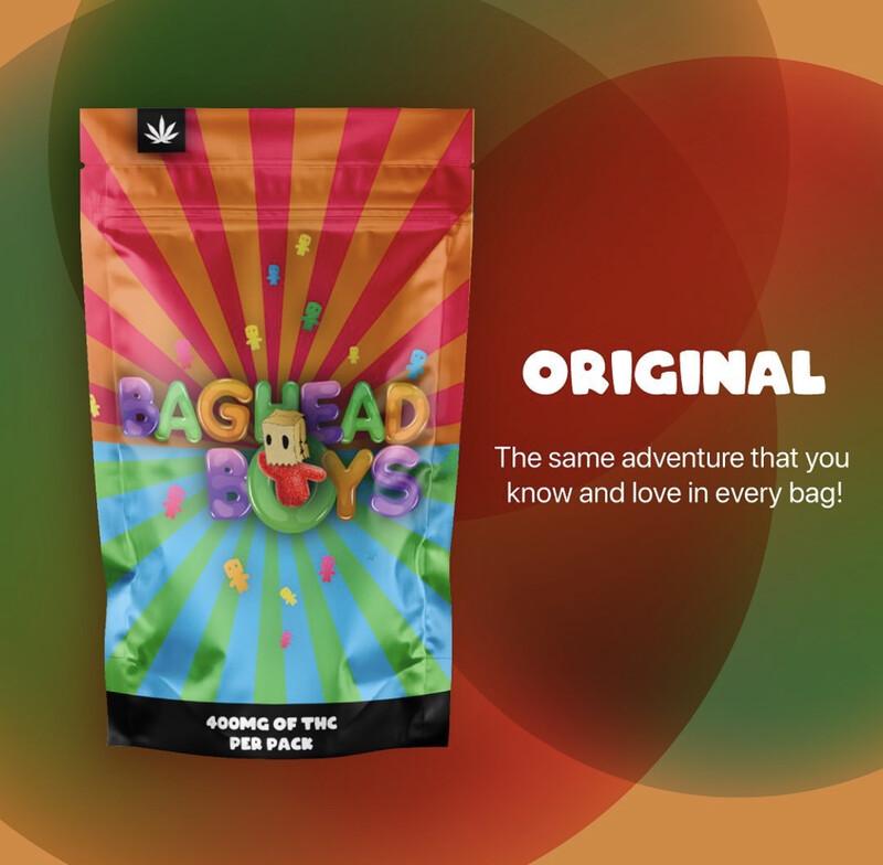 Legal Coupon - Optional ( THC Baghead Boys Gummies) Gift