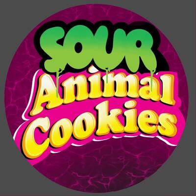Legal Coupon - (Sour Animal Cookies) Optional Gift