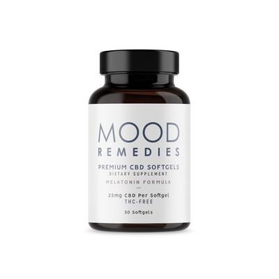 CBD Mood Soft Gels Melatonin