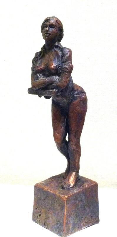 Om Morgenen, Skulptur I Bronse