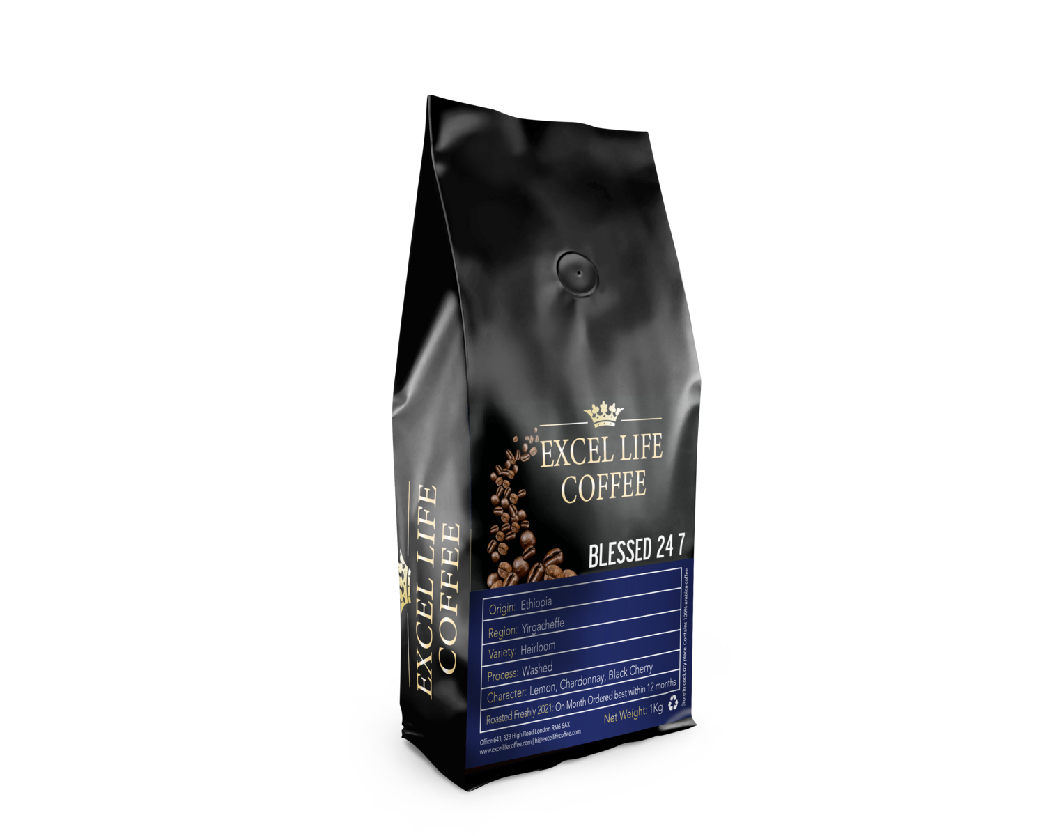 Get the 1kg Excel Life Coffee® Experience freshly roasted   WEEKLY   selection or  preferred choice of 1kg high grade coffee SUBSCRIBE NOW free shipping included