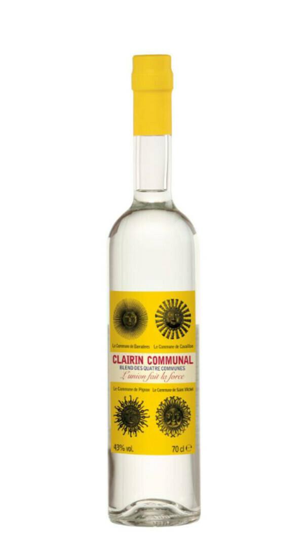 CLAIRIN COMMUNAL 43% alc. 70cl