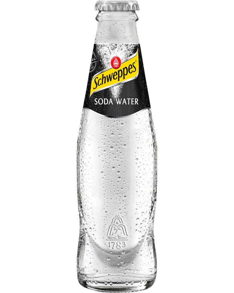 SCHWEPPES SODA WATER CL18