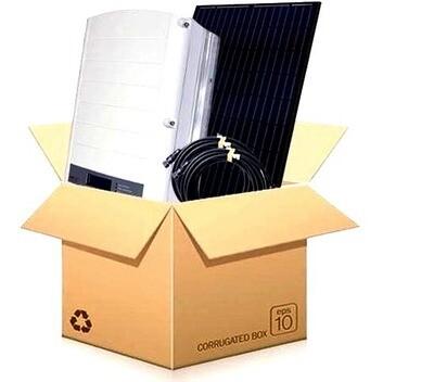 10 Zonnepanelen 340 Wp Qcells Q.Peak DUO BLK-G9+ - Omvormer SolarEdge SE3K