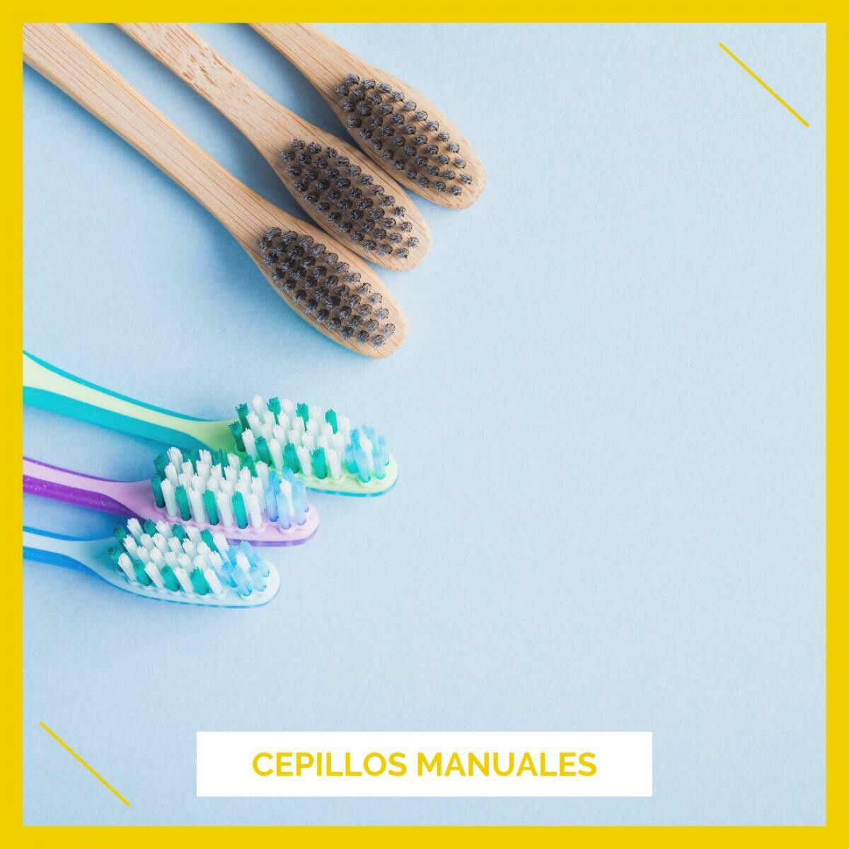 Cepillos manuales e interdentales