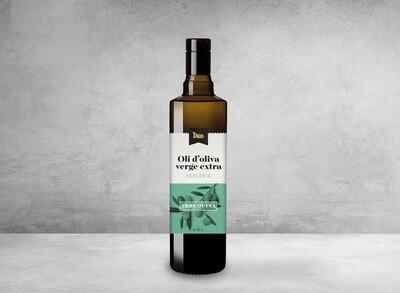 Botella de Cristal de 0,75l de Aceite de Oliva Virgen Extra Ecológico