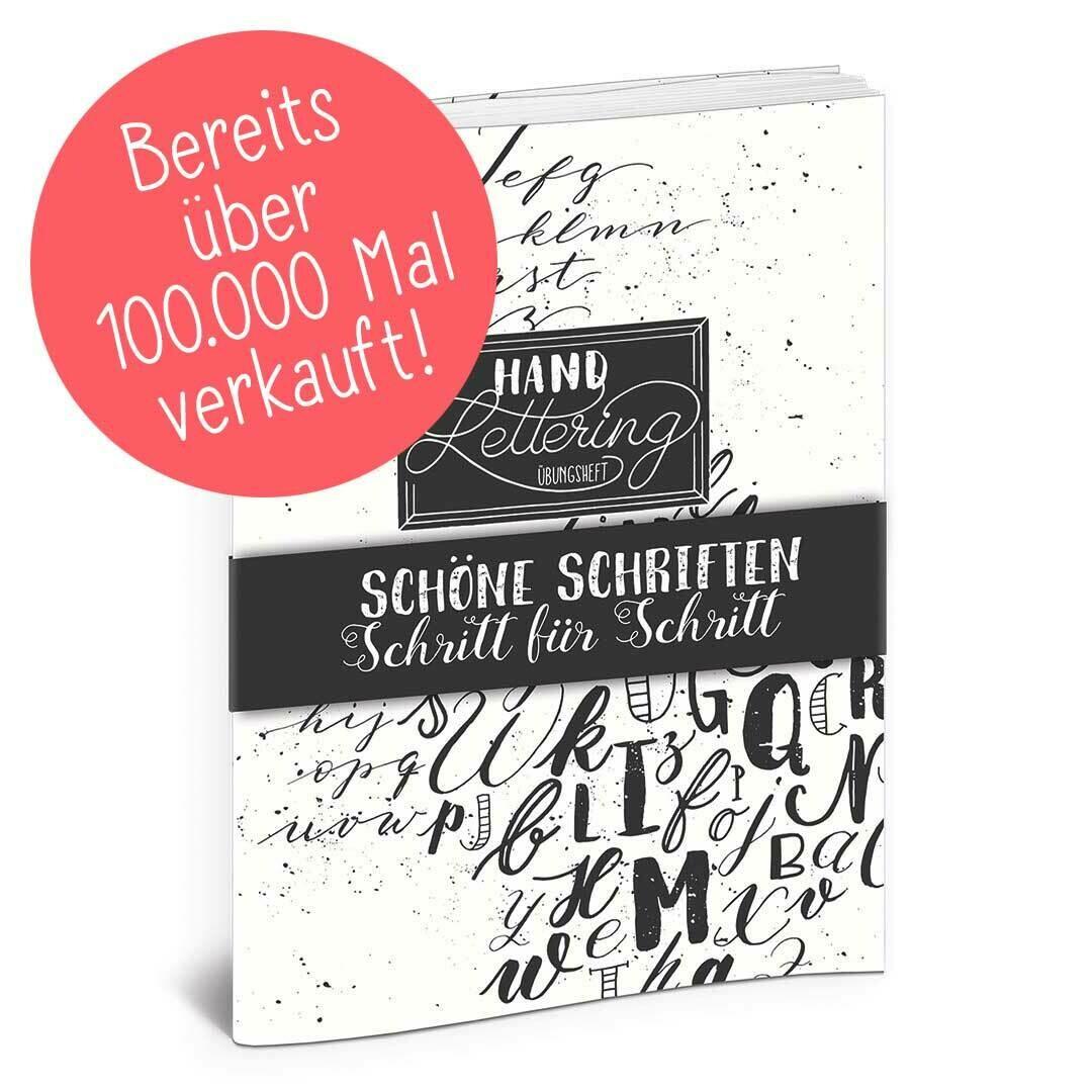 Handlettering Übungsheft – Volume 1