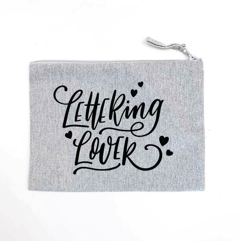 Lettering Lover Pencil Case