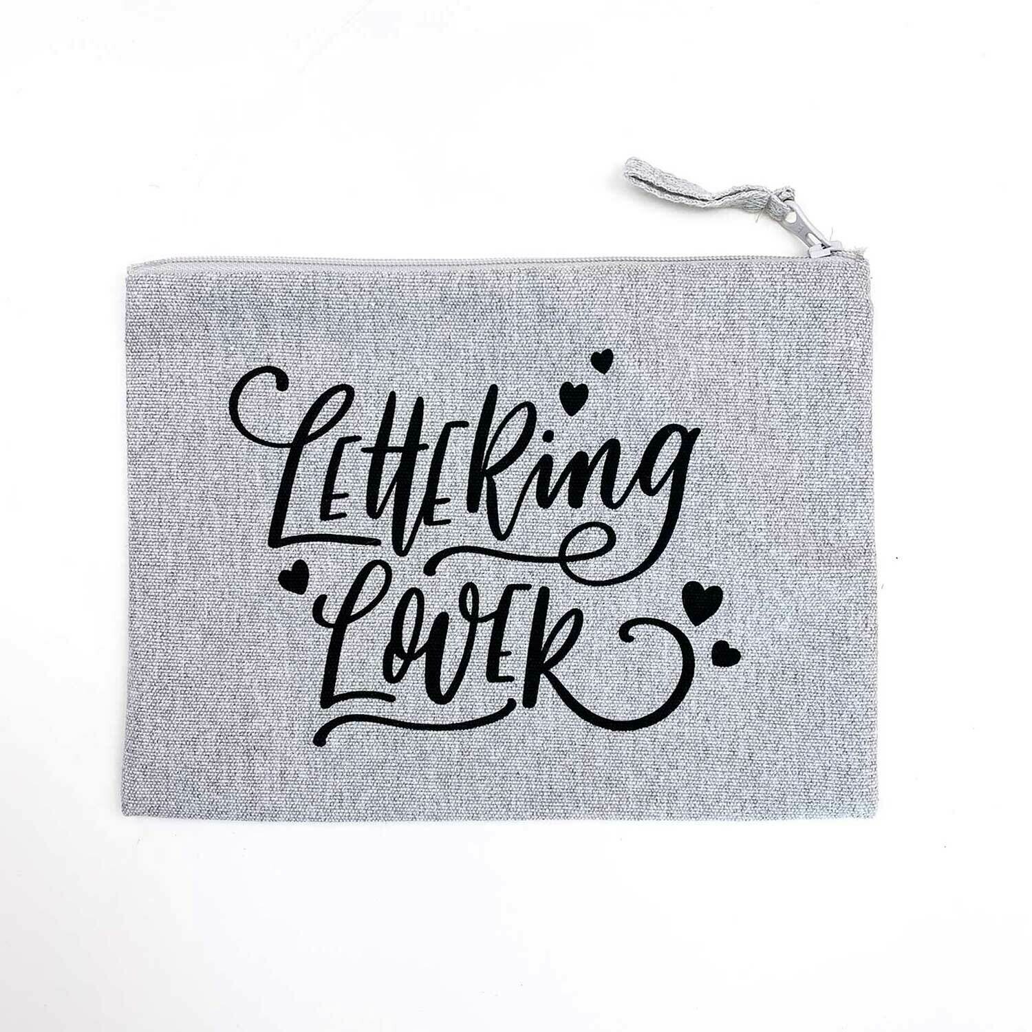 Lettering Lover Pencil Case
