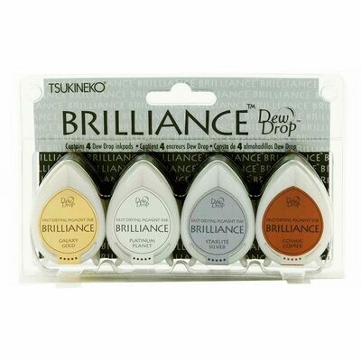 Tsukineko Dew Drop Brilliance Pigment Ink