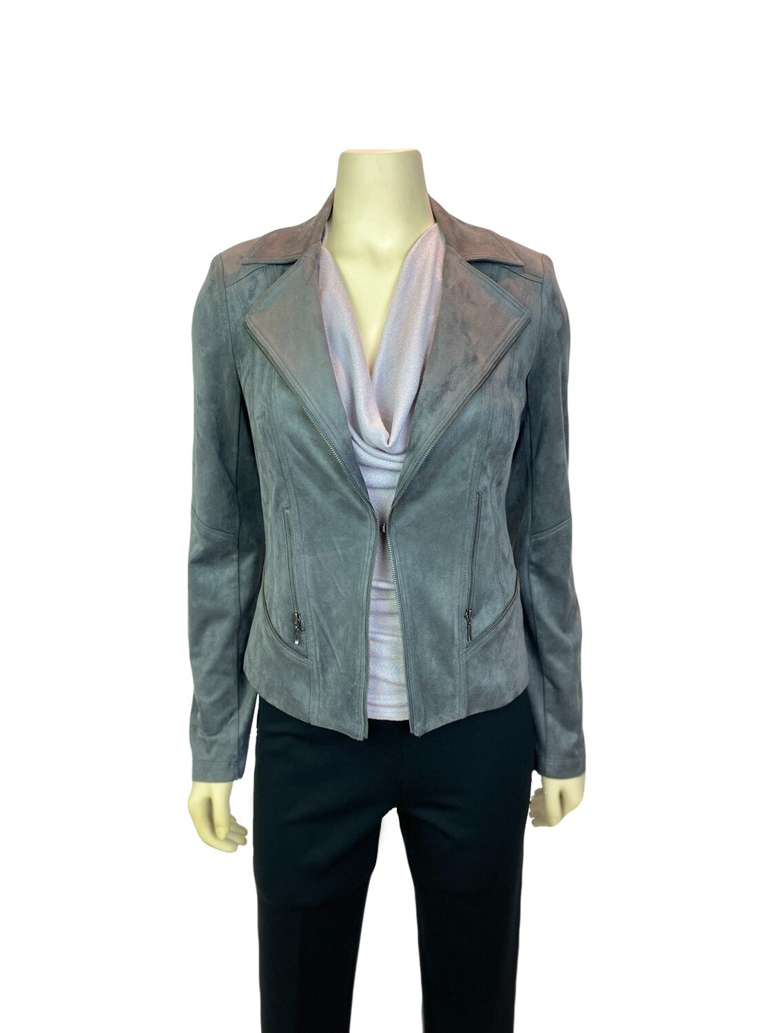 Charcoal Grey Ultra Moto Jacket