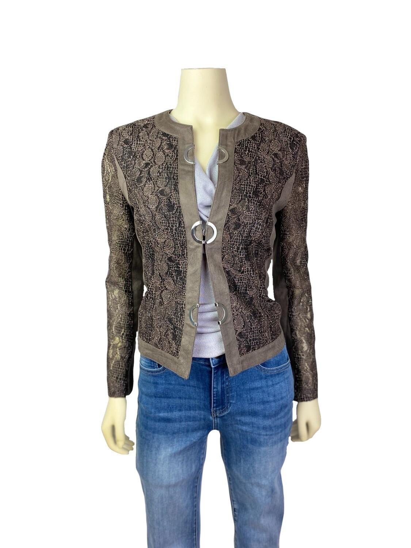 Novelty Lace Front Jacket