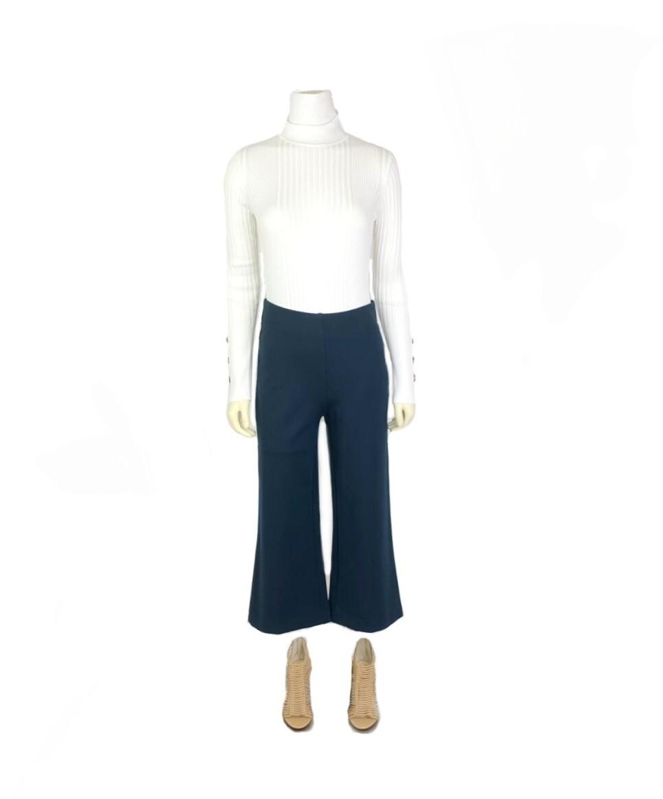 Melba Gaucho Pants in Blue Spruce