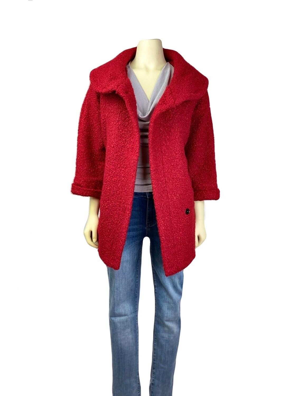 Jackie O' Teddy Bear Boucle Jacket