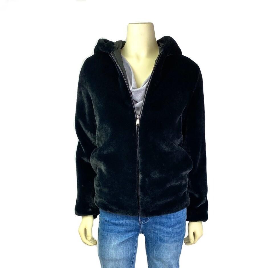 Alexa Luxe Faux Fur Hooded Jacket