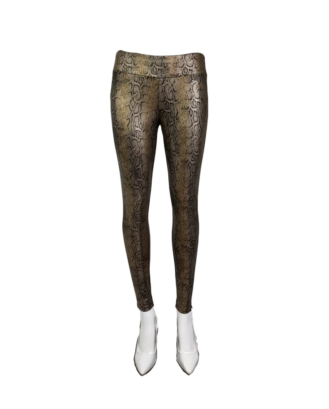 """Make-Me-Happy"" Metallic Reptile Skinny"