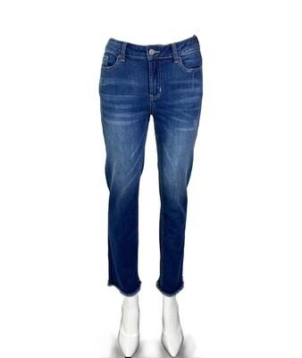 Katrina's High Rise Straight Leg Jean